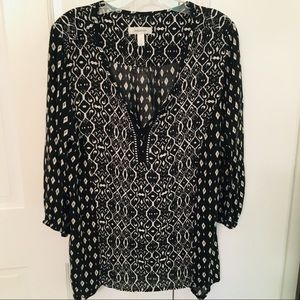 10/20 D.B. BOHO TUNIC TOP Orig $32